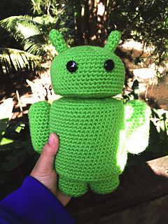 Andy the Android pattern by Holland Morris - Ravelry