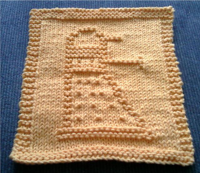 Ravelry Doctor Who Simple Dalek Dishcloth Pattern By Holynarf Lindsay