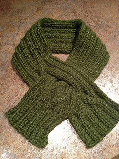Ravelry F304 Cabled Cravat Pattern By Stephanie Boozer