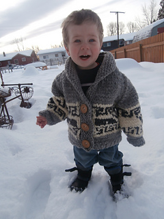 Ravelry Northern Whale Cowichan Sweater Toddler S