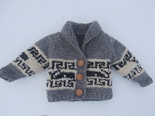 bb81fec9c Ravelry  Northern Whale Cowichan Sweater- Toddler s Cardigan pattern by Kristen  Cooper