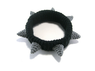 Ravelry Spiked Dog Collar Pattern By Megan Barclay