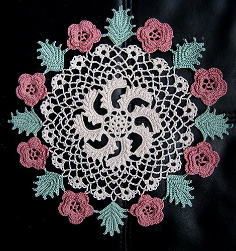 Ravelry Irish Rose Doily Pattern By American Thread Company