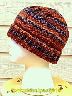 f0e635c2224 Ravelry  Easy Men s Knit Hat pattern by V. Noël