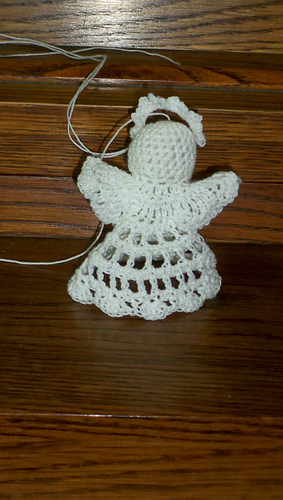 Small Angel Ornament 1 Pattern By Wilma Stash Ravelry
