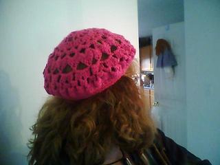 84316cc23660c Ravelry  Raspberry Beret pattern by Heather Thomas
