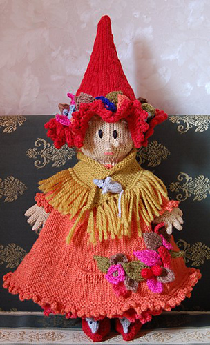 Free Knitting Pattern Witch Doll : Ravelry: Autumn Witch pattern by Sirdar Spinning Ltd.