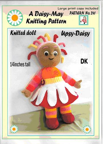 Ravelry A Daisy May Knitting Pattern No 241 Patterns