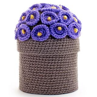 Flower Pot Toilet Paper Cover