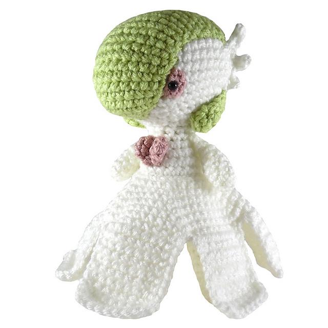 Ravelry: Pokemon: Mega Gardevoir pattern by i crochet things