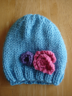 Ravelry Baby In Bloom Hat Pattern By Fiber Flux