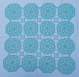 Snowflake CAL pattern by Elaine van Wyk
