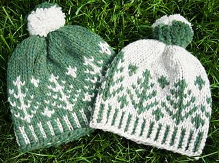 468221fbf768e Ravelry  Retro Ski Hats pattern by Tanis Gray