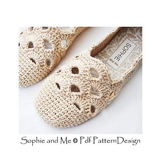 e03cc4e5893dfc Ravelry  Venezia Slippers pattern by Sophie and Me-Ingunn Santini