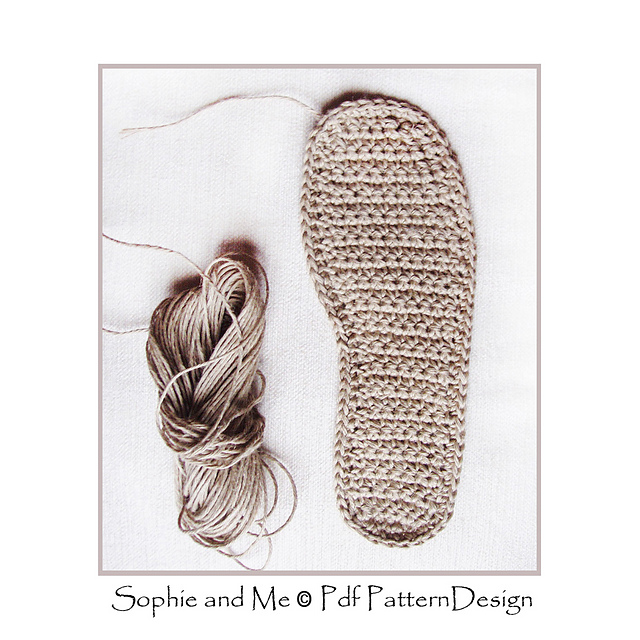 Ravelry E Book Crochet Knit Casual Slippers With Crochet Soles Any