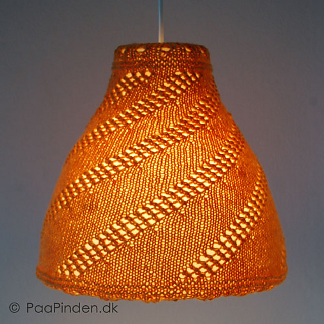 Ravelry Lamp Cover For Ikea Melodi Pendant Pattern By Irene Birk