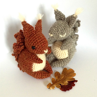 Ravelry Coco The Squirrel Pattern By Irene Strange