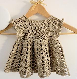 Ravelry Easy Baby Girl Dress Pattern By Tatiana Zuccalà