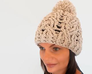 Ravelry  Winter Woven Hat pattern by Tatiana Zuccalà 2759f5cb6ec