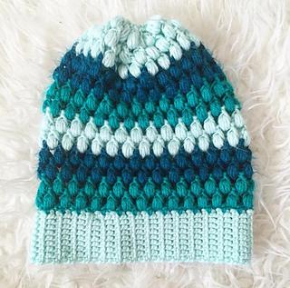 497819ce48c Ravelry  Puff Stitch Slouchy Beanie pattern by Jessica Carey