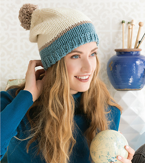 1649114f0e8 patterns   60 Quick Knits for Beginners.   Chunky Slouch Hat