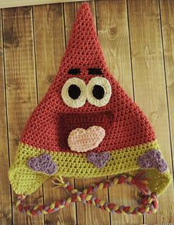 Free Crochet Pattern Patrick Star : Ravelry: Patrick Star Hat pattern by Jamie Huisman