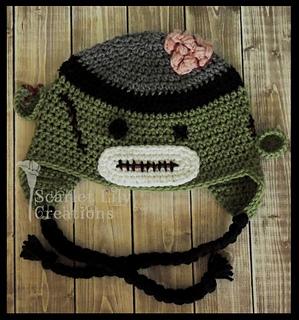 edbd6f564a5 Ravelry  Zombie Sock Monkey Hat pattern by Jamie Huisman
