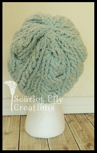 fd8839cbe0d Ravelry  Double Cable Hat pattern by Jamie Huisman