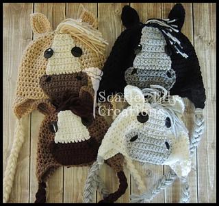 4eb20b9a2fa Ravelry  Horse Hat pattern by Jamie Huisman