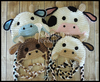 ff0ce85a475 Ravelry  Cow Hat pattern by Jamie Huisman