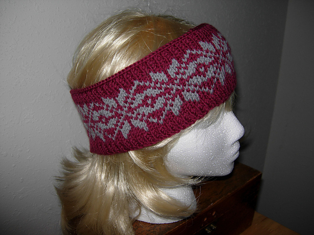 Ravelry: Fair Isle Headband pattern by Jane Stringer