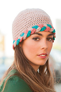 ccb77f4772a Ravelry  Plaited Hat pattern by Jennifer Raymond