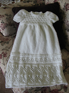 Ravelry Tapestry Christening Gown Set Pattern By Judy Lamb