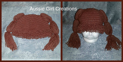 a6624604d Ravelry: Cabbage Patch Doll Inspired Hat pattern by Forever Stitchin