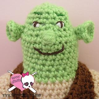 Ravelry  Shrek pattern by Forever Stitchin 769934b4c5f