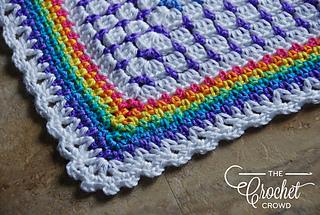 Ravelry Rainbow Baby Blanket Pattern By Jeanne Steinhilber