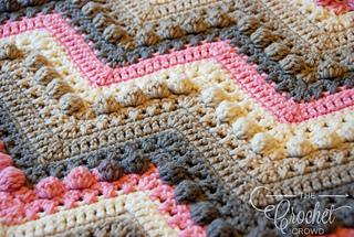 Ravelry Hugs Kisses Baby Blanket Pattern By Jeanne Steinhilber