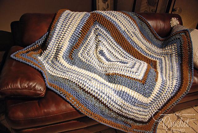 Ravelry Bundle Of Love Blanket Pattern By Jeanne Steinhilber Fascinating Bernat Home Bundle Yarn Patterns