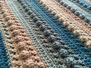 Ravelry Little Boy Blue Baby Blanket Pattern By Jeanne Steinhilber