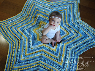 Ravelry Hugs Amp Kisses Starshine Afghan Pattern By Jeanne