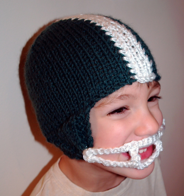 Ravelry Football Helmet Winter Hat Pattern By Tracey Rediker