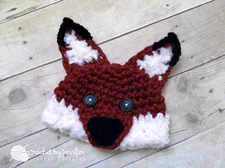 Ravelry  Woodland Fox   Wolf Hat pattern by Crochet by Jennifer 0ebe1db9f4b