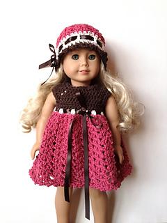 Crochet Pattern Central American Girl : Ravelry: American Girl Doll & Preemie Baby Hat Pattern ...