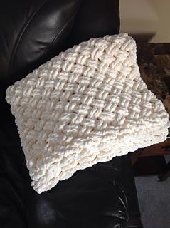 ravelry diagonal weave blanket pattern by crochet by jennifer