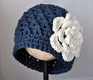 Ravelry Classy Chunky Flowered Cloche Pattern By Classy Crochet