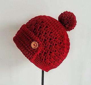 Ravelry Classy Pom Pom Button Hat Pattern By Classy Crochet