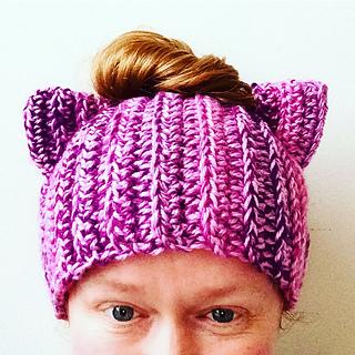 Ravelry Messy Bun Cat Hat Pattern By Rebecca Renea