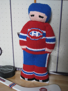 new concept 48813 cf6cd My First Hockey Player: Montreal Canadiens pattern by Jennifer Lori