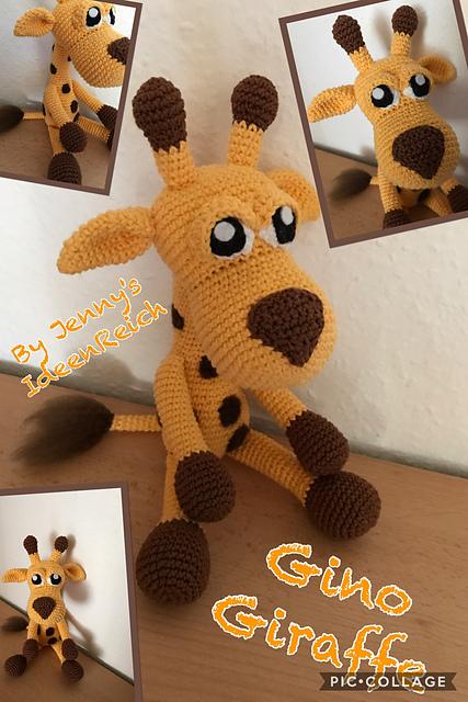 Ravelry: Giraffe Gino pattern by Jenny Dammann