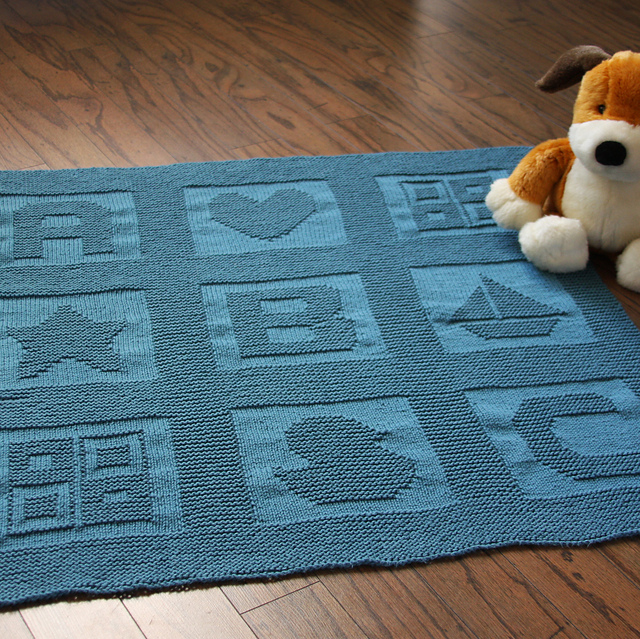 Ravelry Abc Baby Blanket Pattern By Jenny Williams